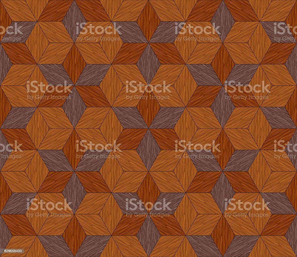 Seamless Tiling Pattern with Wood Grain stock photo