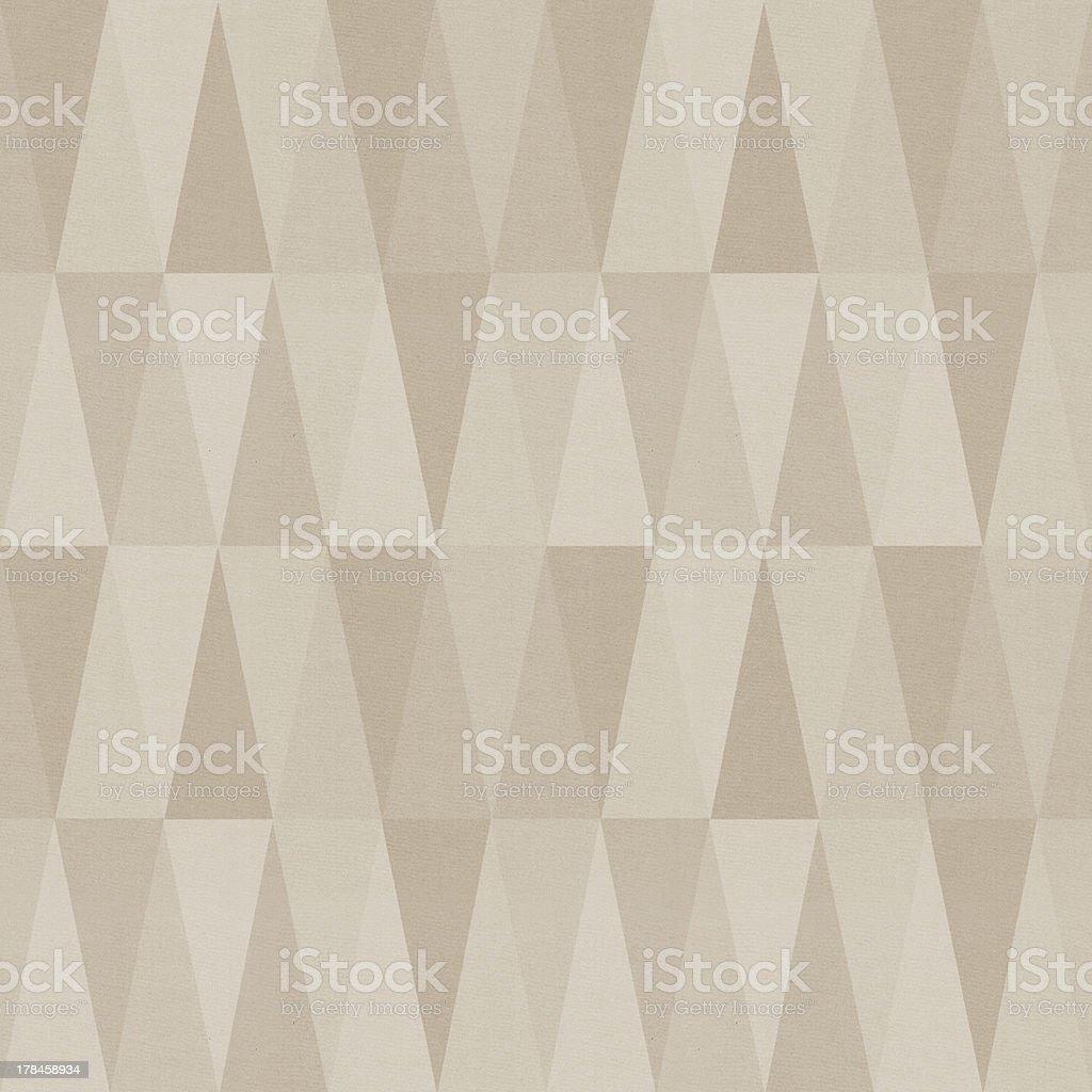 Seamless triangle patten stock photo