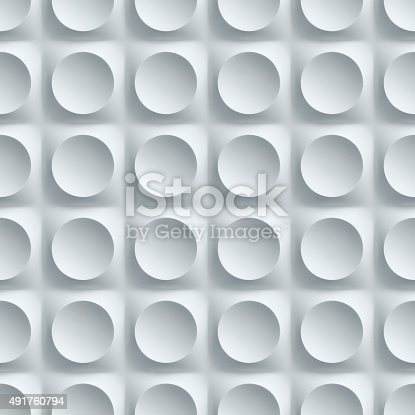 479257178istockphoto seamless wall panel with circular patterns 491760794
