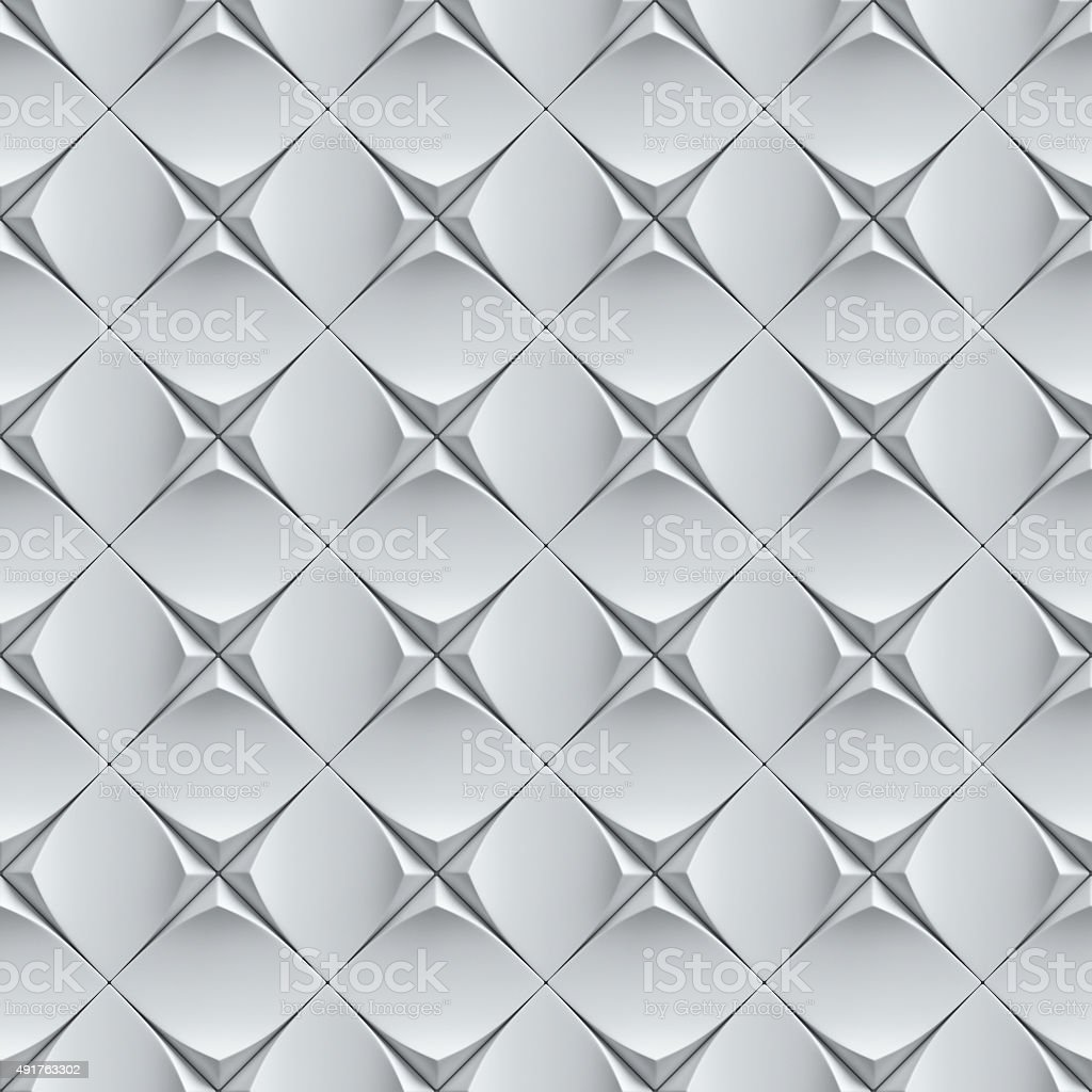 seamless wall panels 3d background stock photo