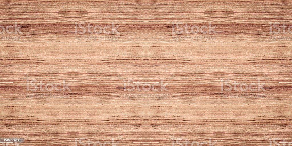 Seamless Walnut Wood Texture (2:1 Format) stock photo