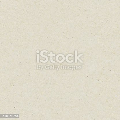 istock Seamless washy sandy grainy plain light beige paper texture background 510152754