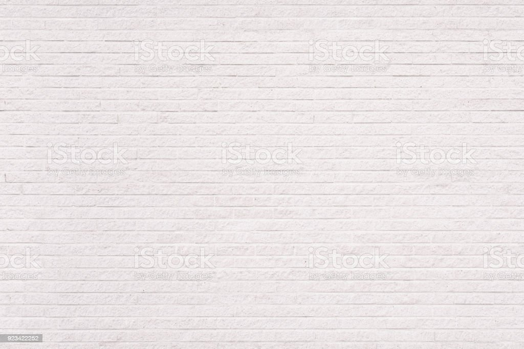 Seamless white brick wall background stock photo