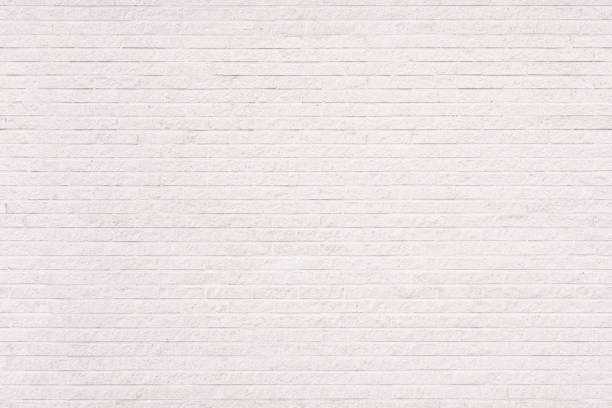 Seamless white brick wall background stock photo