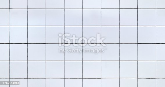 White Ceramic or Porcelain Tile for use in renderings or as a background. Image can be tiled together for a seamless image.