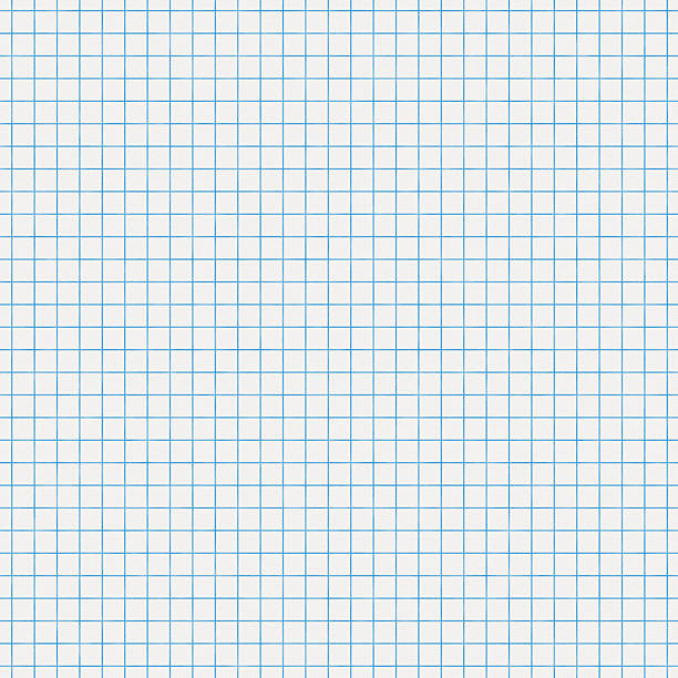 Seamless white graph paper stock photo