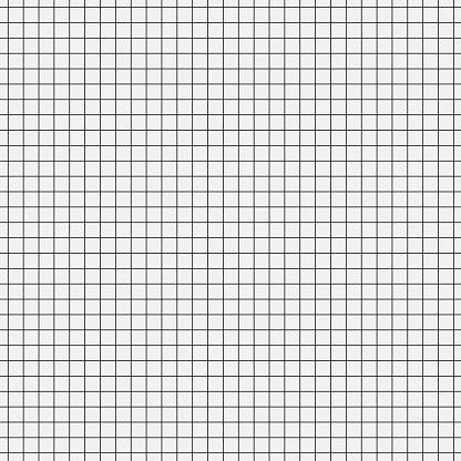 Seamless White Graph Paper With Black Lines 照片檔及更多 2015年 照片
