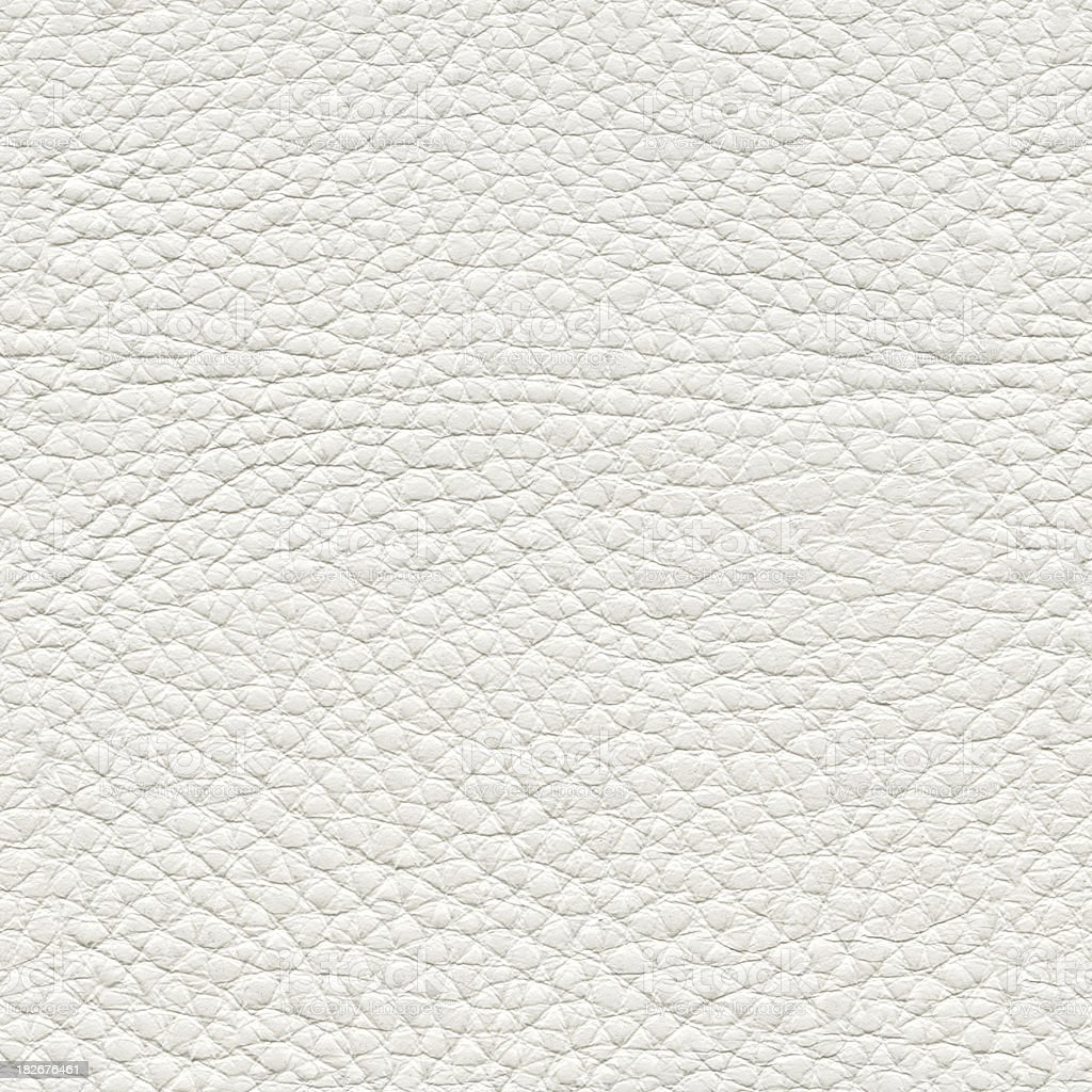 Seamless White Leather Background Royalty Free Stock Photo