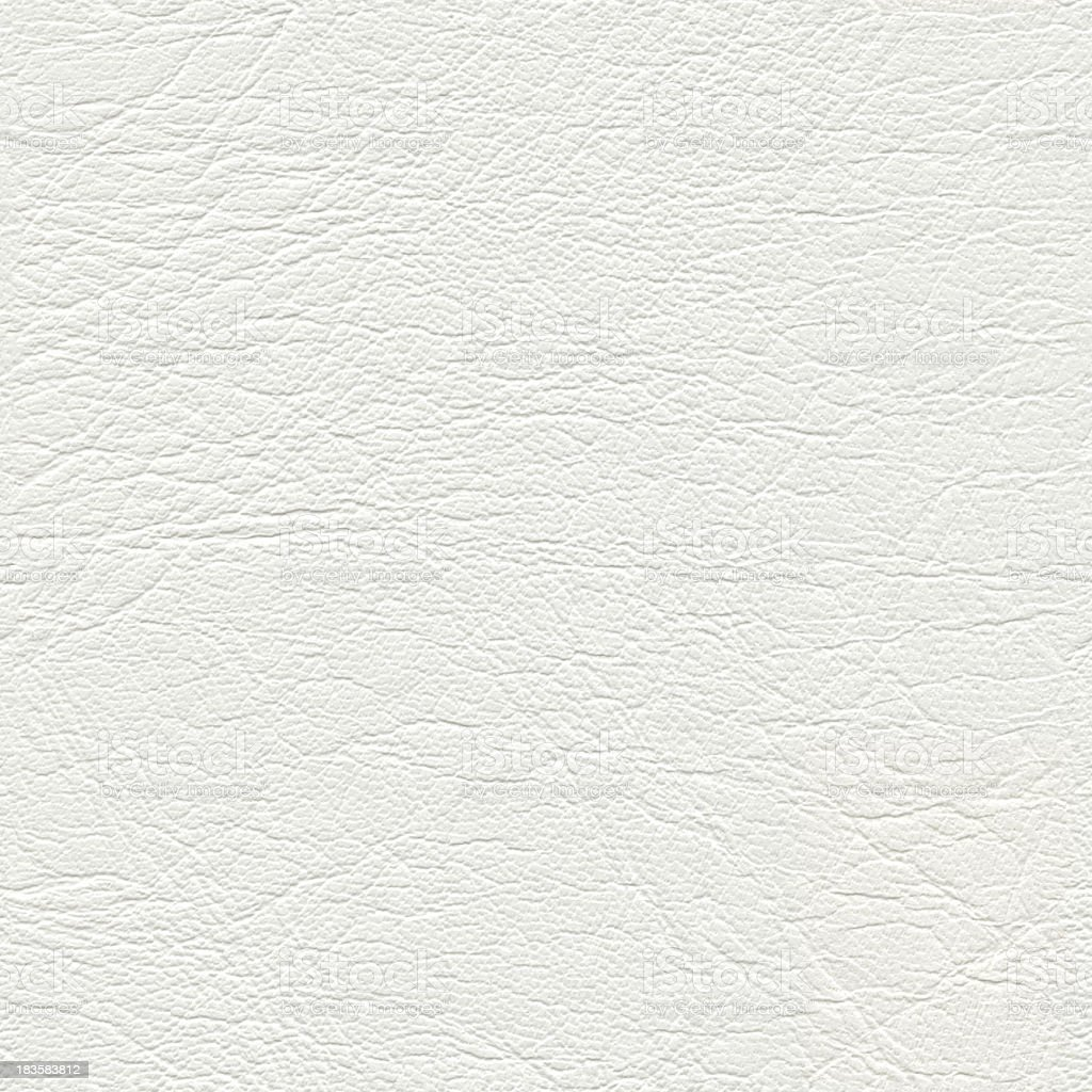 Seamless white leather background stock photo