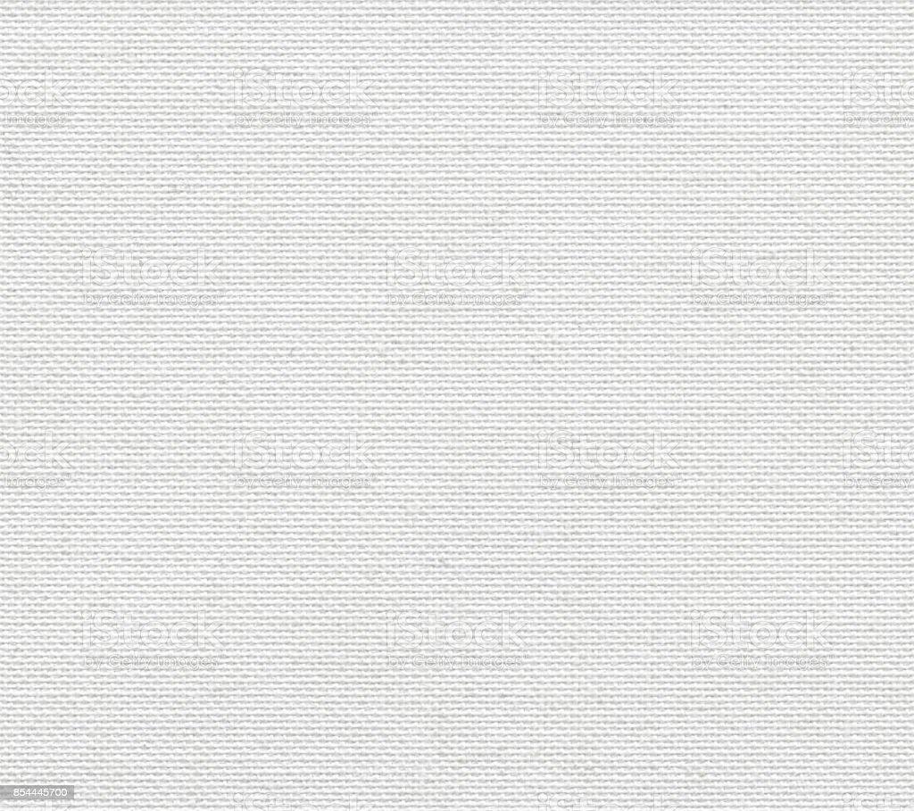 Nahtlose Hintergrund aus weißen Leinen-canvas – Foto