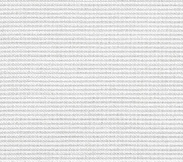 seamless white linen canvas background - lona têxtil imagens e fotografias de stock