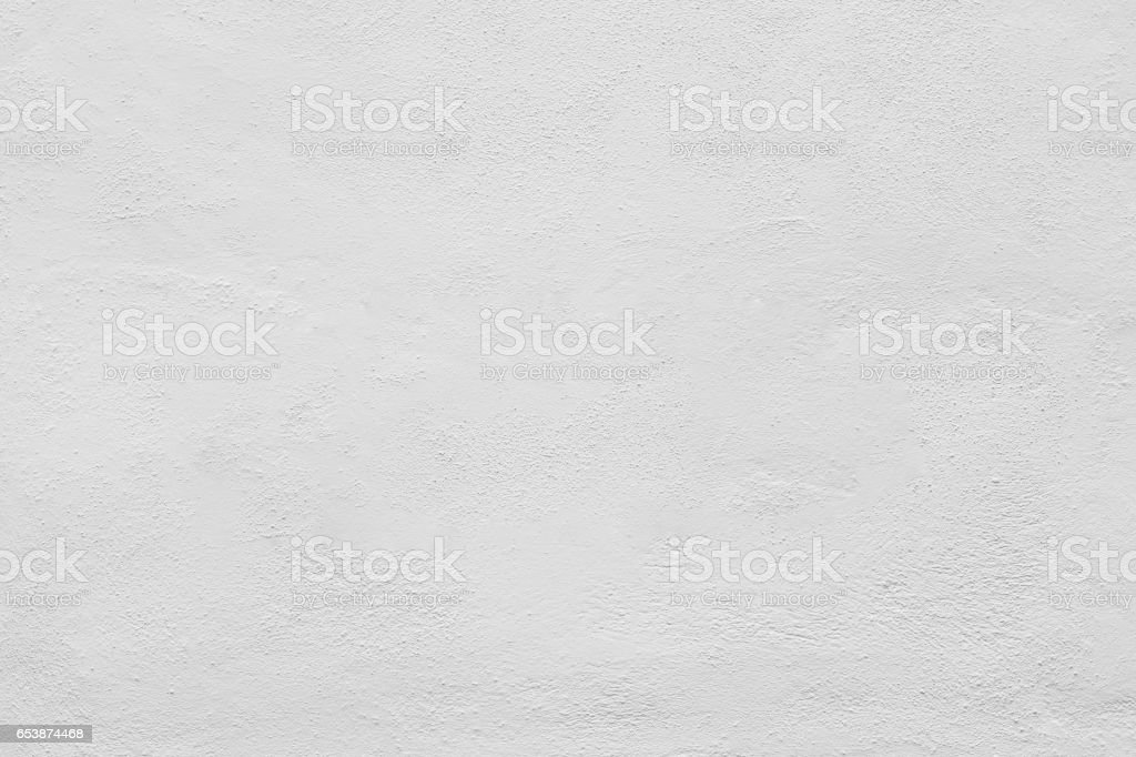 Seamless white painted concrete wall texture - background stock photo