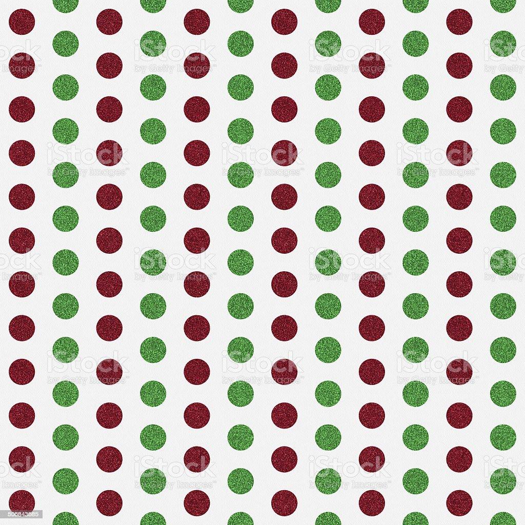 Seamless Libro Blanco Con Rojo Y Verde Brillante Patrón De Puntos ...