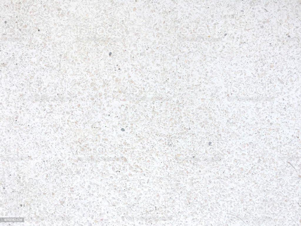Seamless White Terrazzo Textured Royalty Free Stock Photo