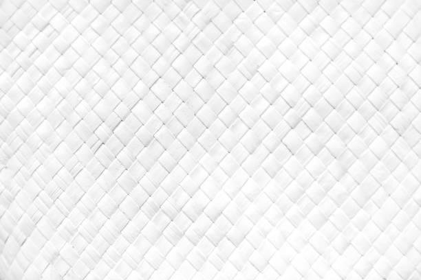 Seamless white wicker backgrounds stock photo