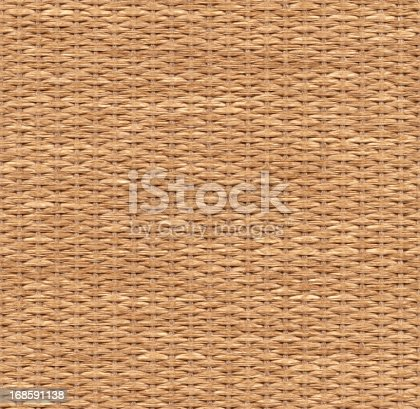 Seamless wicker background. High resolution and lot of details.