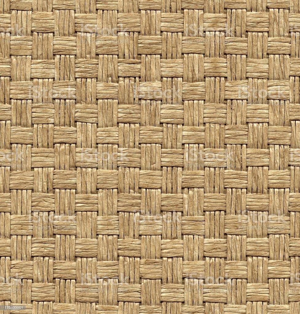 Seamless wicker background royalty-free stock photo