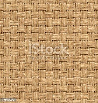 High resolution seamless wicker texture