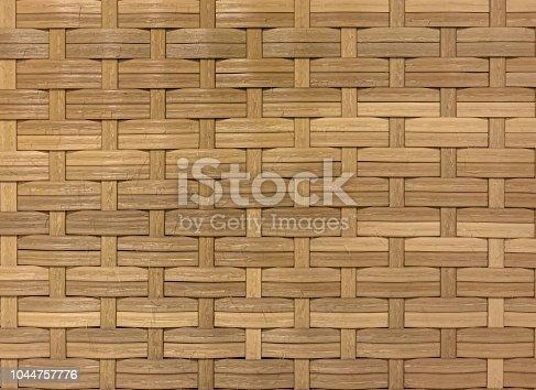 Seamless wicker woven texture