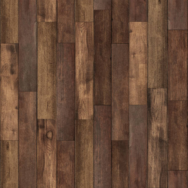 Seamless wood floor texture stock photo