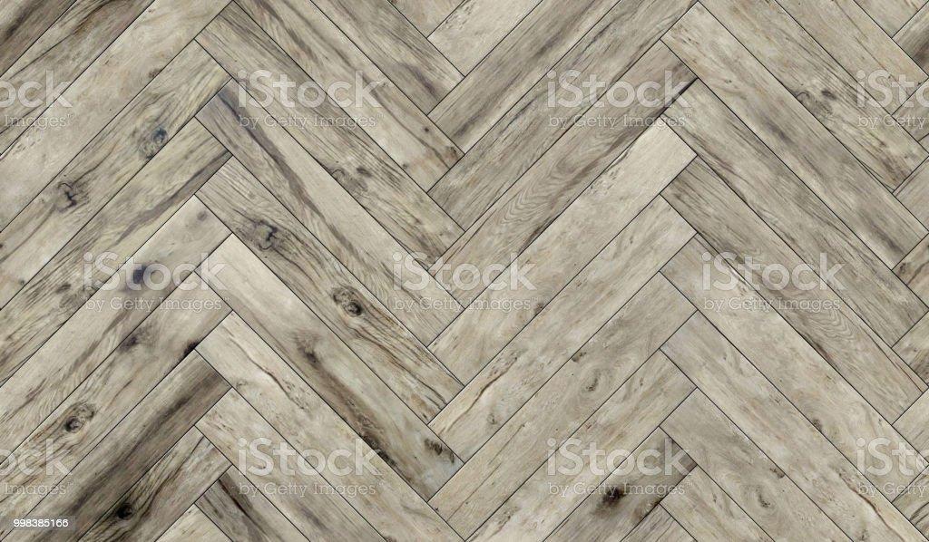 Seamless Wood Parquet Texture Herringbone Pattern Diffuse Stock