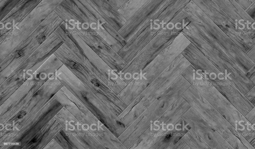 Seamless Wood Parquet Texture Herringbone Pattern Glossiness Stock
