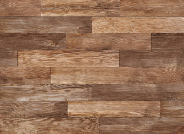 Seamless wood texture, hardwood floor texture background stock photo