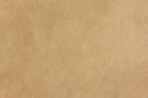 Seamless yellow Kraft Paper, background