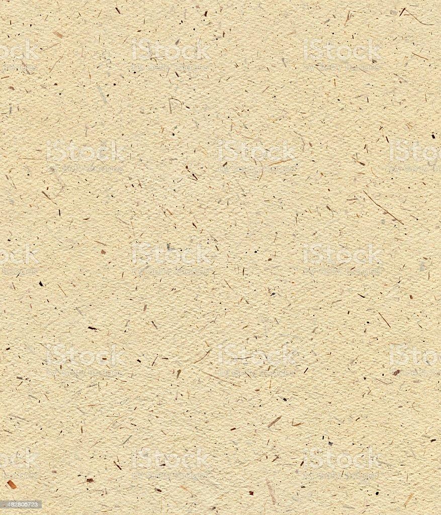 Seamless yellow textured paper background stock photo