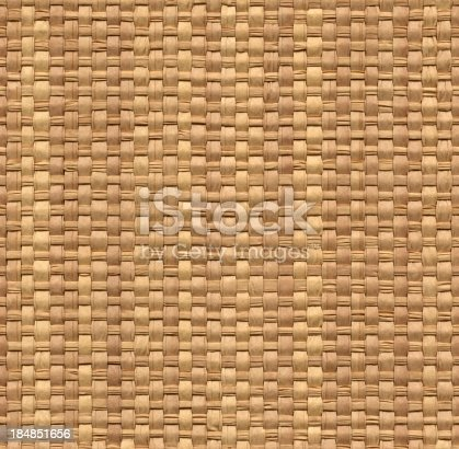 High resolution seamless wicker texture