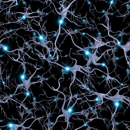 istock Seamlessly Repeatable Brain Cells Pattern 481061622