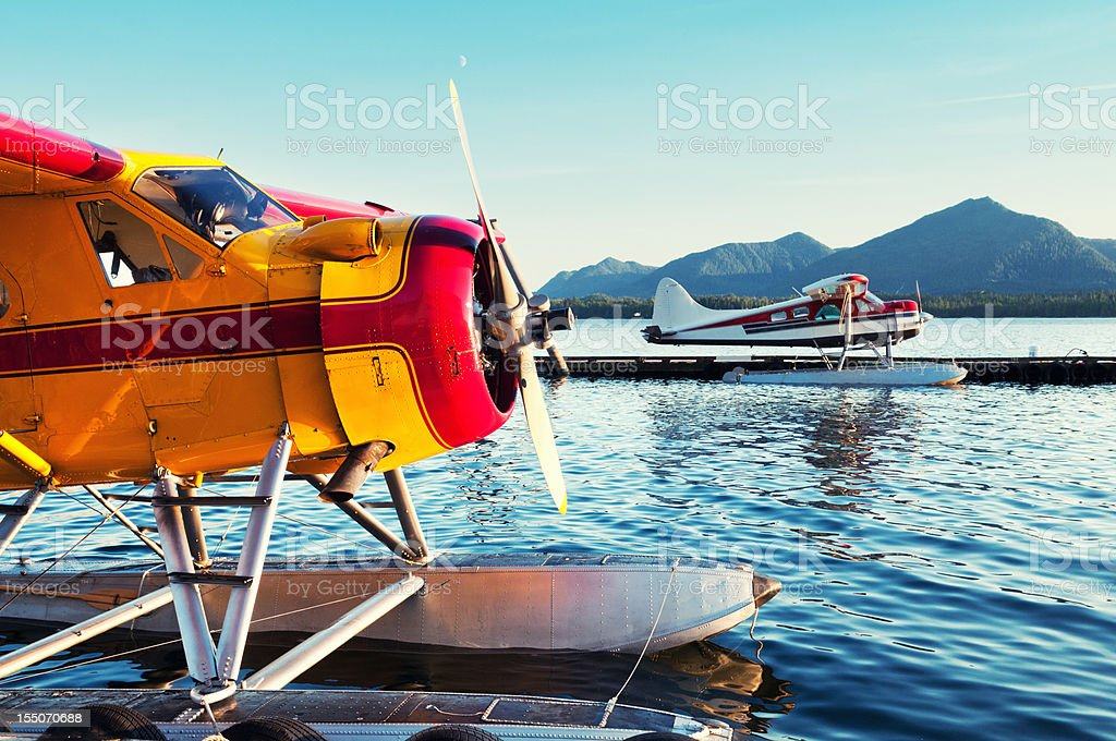 Seaplane Docks royalty-free stock photo