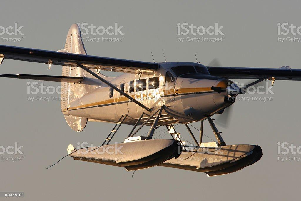 Seaplane royalty-free stock photo