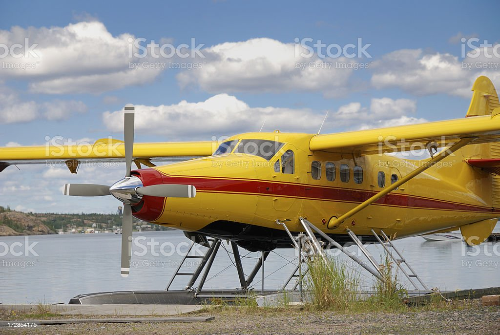 Seaplane royalty-free stock photo