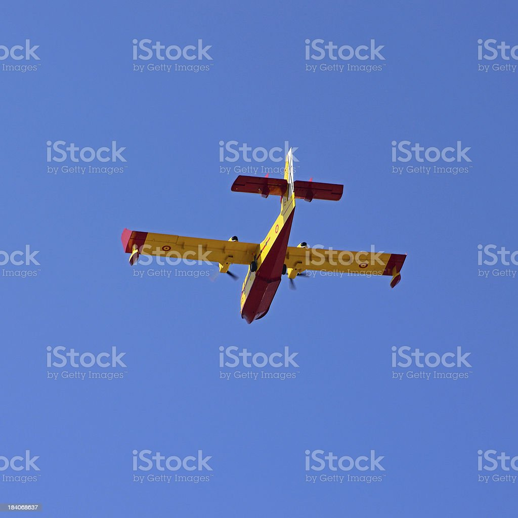 seaplane stock photo