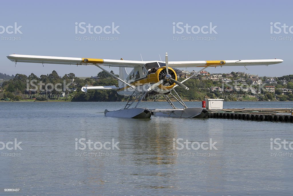 Seaplane #1 stock photo