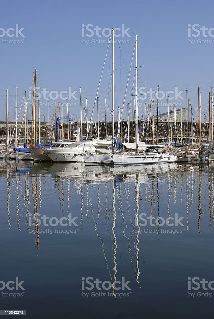 Seaport royalty-free stock photo