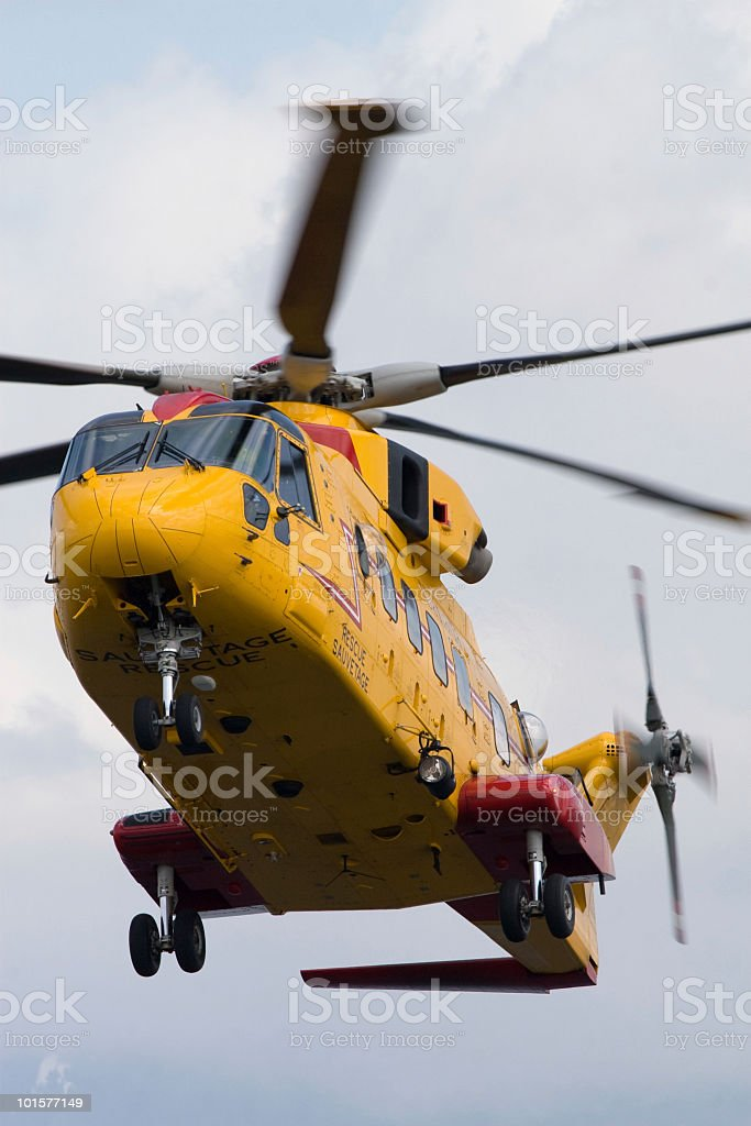 Search and Rescue Helicopter royalty-free stock photo