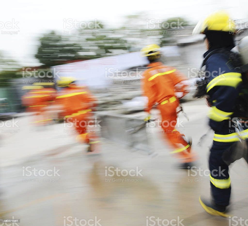 search and rescue royalty-free stock photo