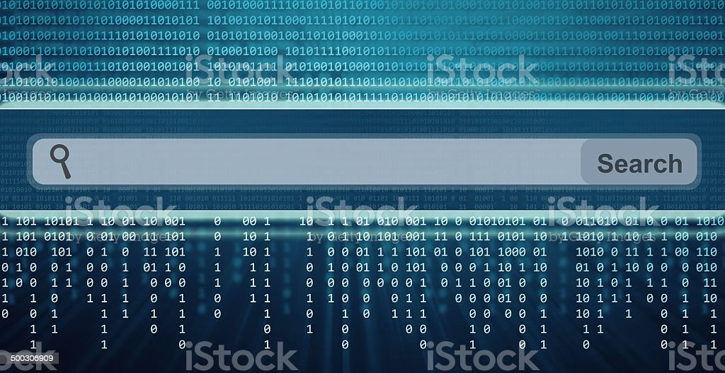 Search Engine Bar stock photo