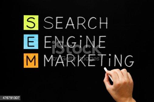 istock Search Engine Marketing Acronym 476791307