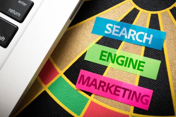 SEM - Search Engine Marketing stock photo
