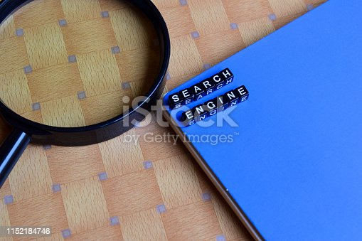 istock Search Engine on wooden blocks. motivation and inspiration concept 1152184746