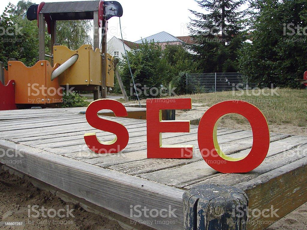 SEO - Search Engine Optimisation royalty-free stock photo