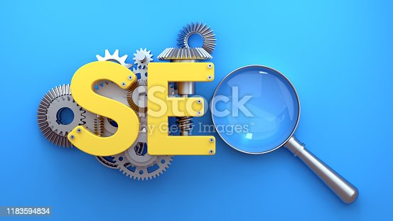 istock Search Engine Optimization (SEO) Concept 1183594834