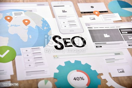 474953508 istock photo Search engine optimization. 1227384795