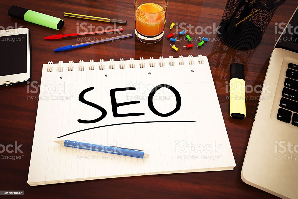 Search Engine Optimization stock photo