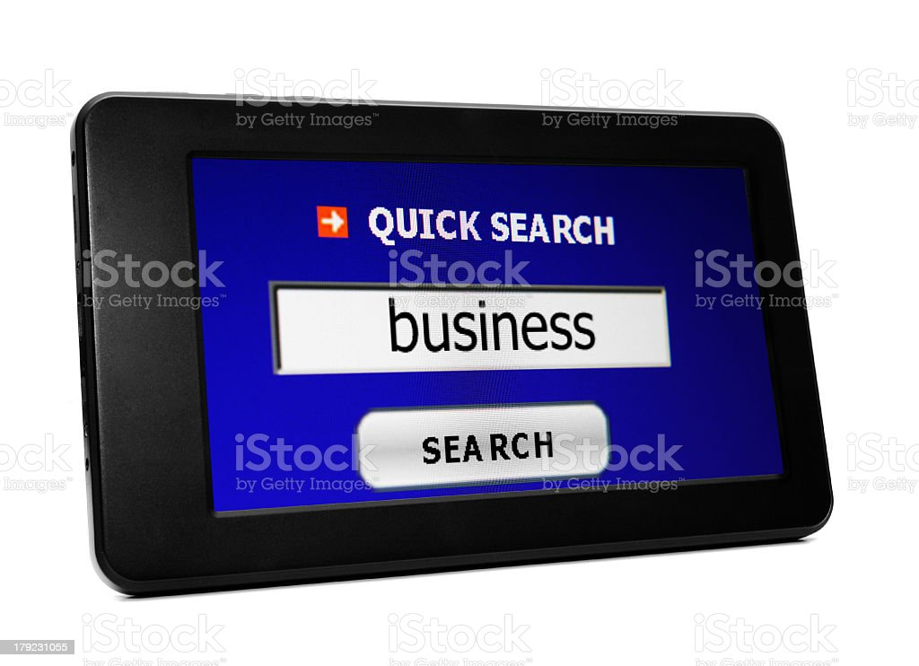 Search for business stock photo