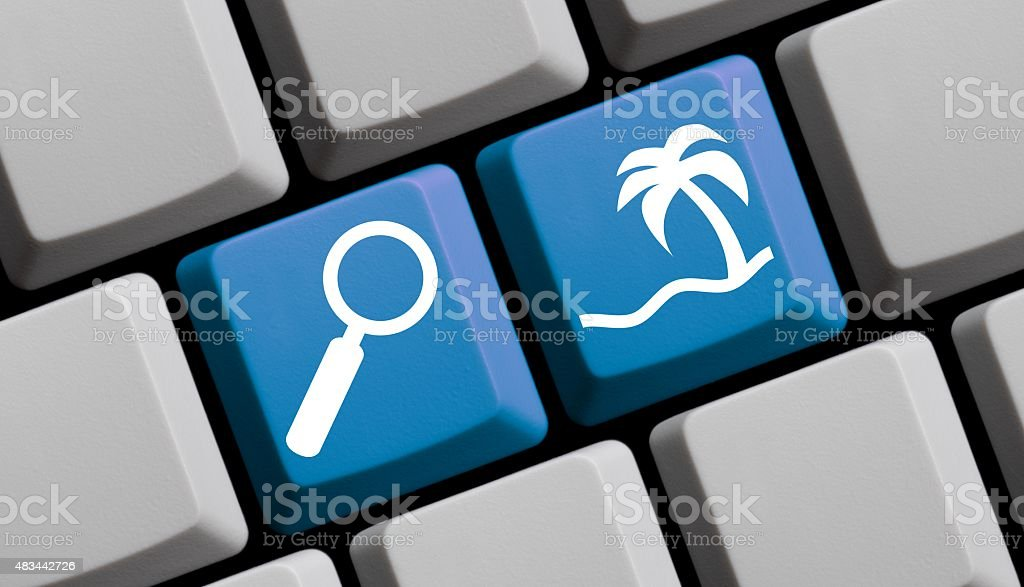 Search for holiday online stock photo