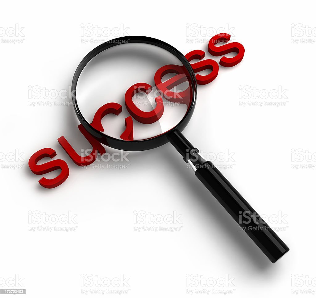 Search for success royalty-free stock photo